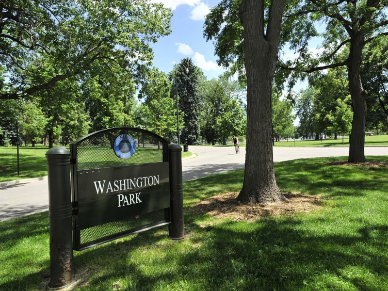 Washington Park - Southeast Corner