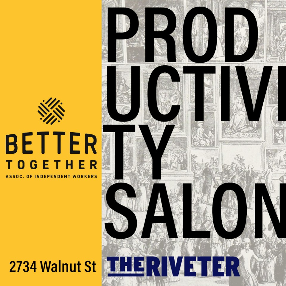 Better Together Presents: Business Mastery Salon: Productivity
