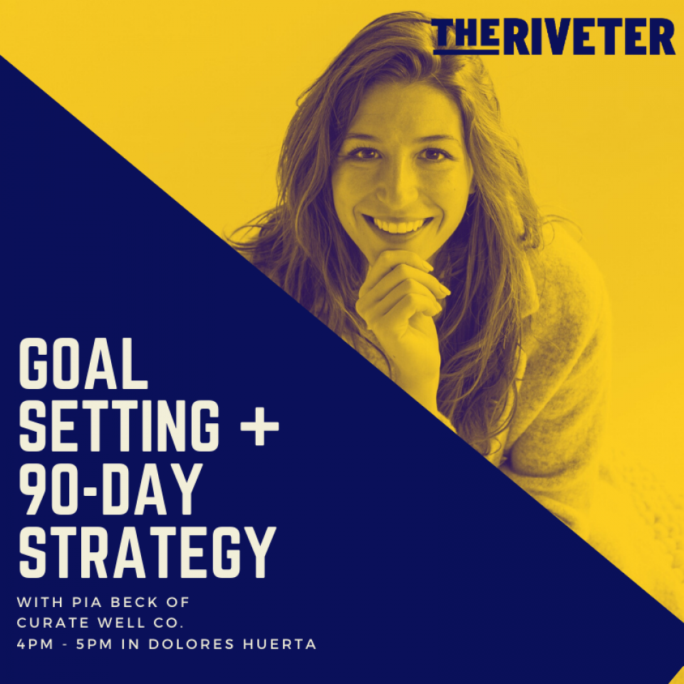 Goal Setting + 90 Day Strategy w/ Pia Beck of Curate Well Co.