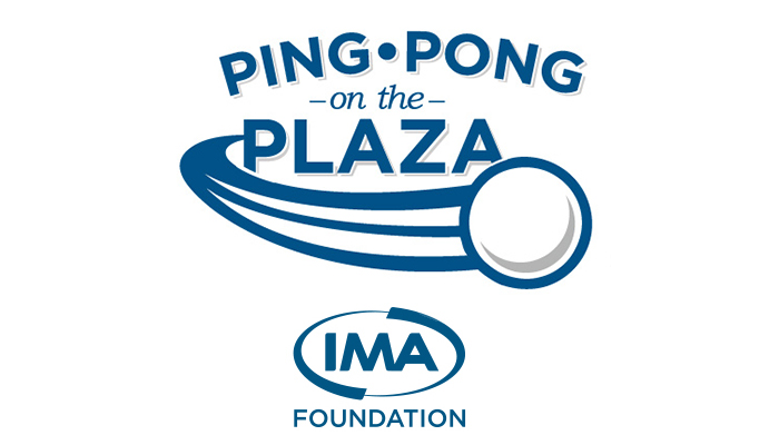 Ping Pong on the Plaza