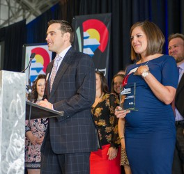 President of MHYP and Husband win Denver Metro Chamber Small Business of the Year